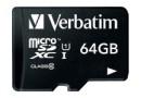 Флеш карта microSD 64GB Verbatim microSDXC Class 10