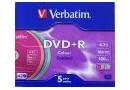 Verbatim Диск DVD+R 4.7 Gb, 16x (43556)