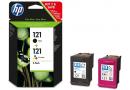 HP CN637HE комбинированная упаковка № 121 (CC640HE + CC643HE)