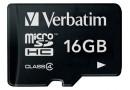 Verbatim Флеш карта microSD 16GB (44007)