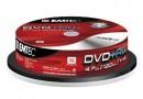 Диск DVD+RW Emtec 4.7 Gb, 4x, Cake Box (10), (10/160)