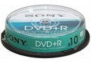 SONY Диск DVD+R Sony 4.7 Gb, 16x (10DPR47SP)