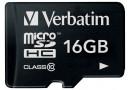 Verbatim Флеш карта microSD 16GB (44010)