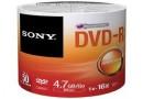 SONY Диск DVD-R 4.7 Gb, 16x (50DMR47SB)