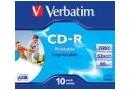 Verbatim Диск CD-R 700 Mb, 52x (43325)