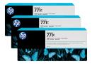 HP B6Y37A Черные чернильные картриджи Designjet HP в тройной упаковке (3 шт.)