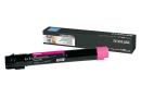LEXMARK C950X2MG Пурпурный картридж сверхвысокой емкости