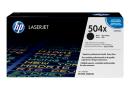 HP CE250X Картридж черный HP 504X