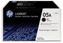 HP CE505D Kартридж черный HP 05A в двойной упаковке