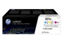 HP CF253XM Тройная упаковка картриджей HP 201X (CF401X/CF402X/CF403X)