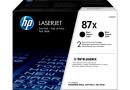 Тонер-картридж HP CF287XD черные 87X в сдвоенной упаковке