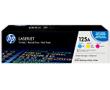 HP CF373AM Цветные картриджи HP 125A в тройной упаковке (CB541A / CB542A / CB543A)