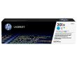 Тонер-картриджи HP CF401X увеличеной емкости голубой HP 201X