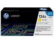 HP Q6002A Картридж желтый HP 124A