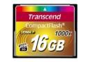 Transcend Флеш карта CF 16GB 1000X (TS16GCF1000)