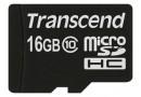 Transcend Флеш карта microSD 16GB (TS16GUSDC10)