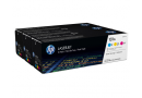 HP U0SL1AM Цветные картриджи 131A в тройной упаковке (CF211A / CF212A / CF213A)