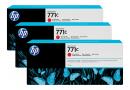 HP B6Y32A Хроматические красные чернильные картриджи Designjet HP 771 в тройной упаковке