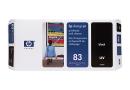 HP C4960A Печатающая головка HP 83 с устройством очистки, адаптированная под чёрные чернила, стойкие к УФ