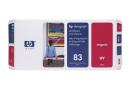 HP C4962A Печатающая головка HP 83 с устройством очистки, адаптированная под пурпурные чернила, стойкие к УФ