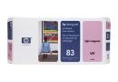 HP C4965A Печатающая головка головка HP 83 с устройством очистки, адаптированная под светло-пурпурные чернила, стойкие к УФ
