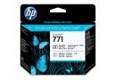 HP CE020A Черная/светло-серая печатающая головка HP 771